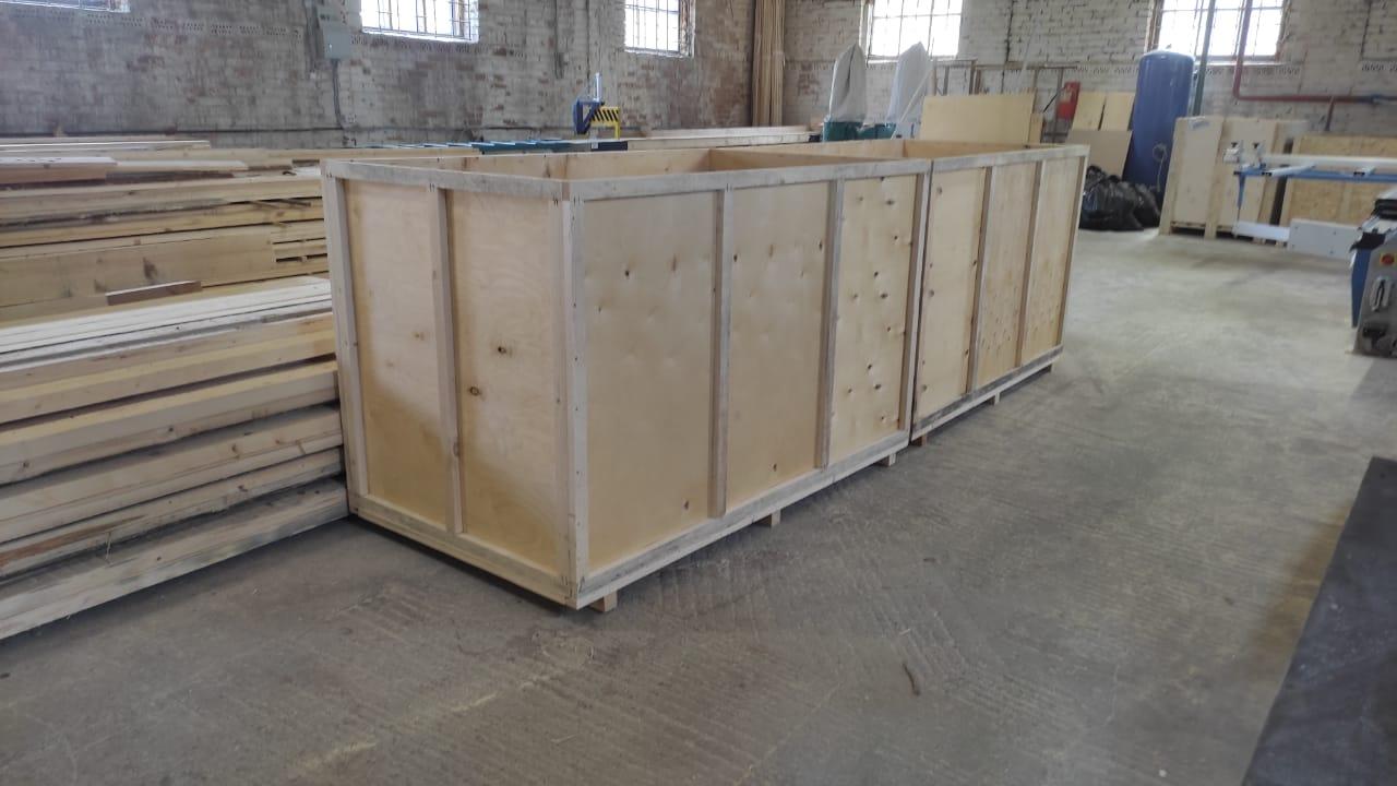 деревянная тара на экспорт