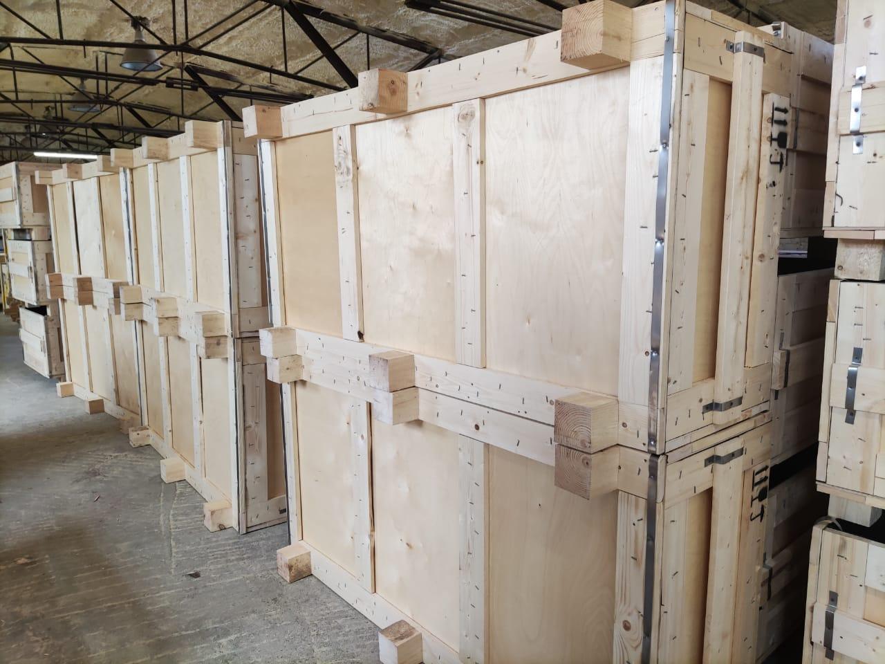 Деревянная упаковка грузов